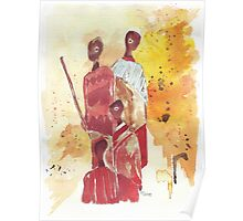 African Women - Ethnic series Poster