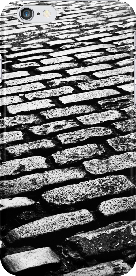 Cobbled Together - Covent Garden - London - iPhone Case by Bryan Freeman