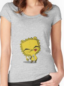 Lion-Gir Women's Fitted Scoop T-Shirt