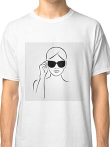 Style with shades Classic T-Shirt