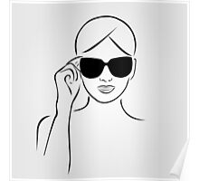 Style with shades Poster