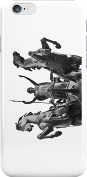 Bodacious Boudica - London - iPhone Case by Bryan Freeman