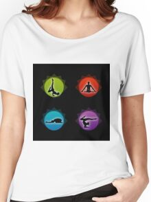 Yoga pilates  Women's Relaxed Fit T-Shirt