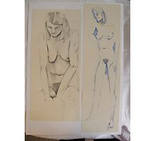 PENCIL NUDE 3 Photographic Print