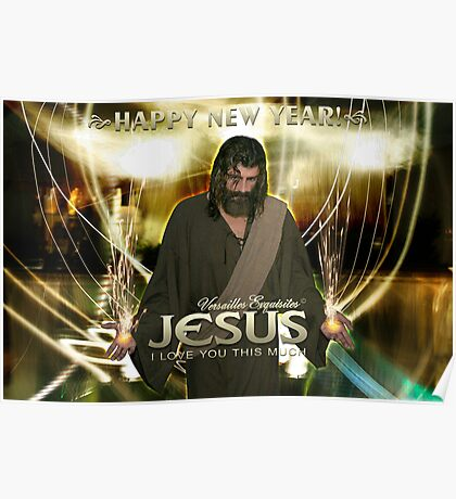 Jesus, Happy New Year! (I love you this much) Poster