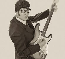 Deak Rivers as Buddy Holly by NKSharp