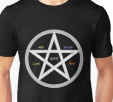 Pentagram - Elements - (Designs4You) Unisex T-Shirt