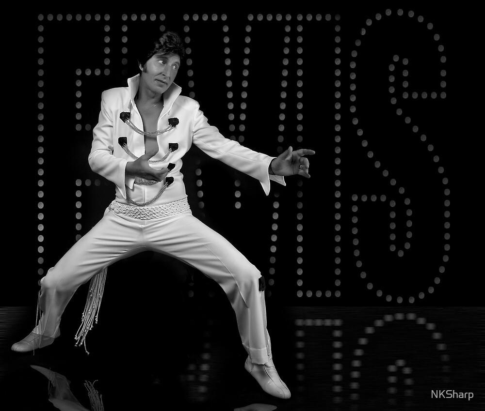Deak Rivers as Elvis Presley by NKSharp