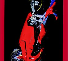 iPhone Case - Ducati Motorcycle by Vicki73