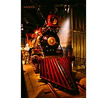 Cool old train, Smithsonian Photographic Print