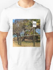 Beach Access Sign and Path Unisex T-Shirt