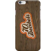 70 Decibels iPhone Case/Skin