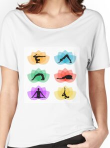yoga and meditation Women's Relaxed Fit T-Shirt