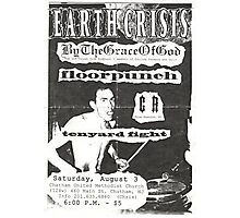 by the grace of god floorpunch cr ten yard fight show flyer Photographic Print