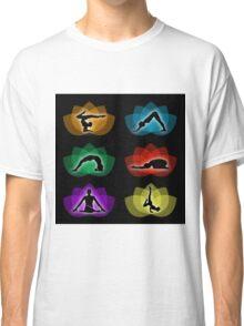 yoga and meditation Classic T-Shirt