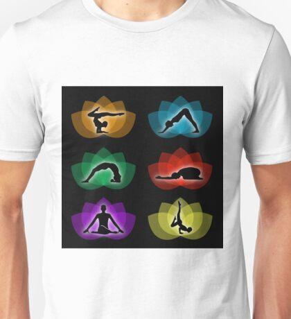 yoga and meditation Unisex T-Shirt
