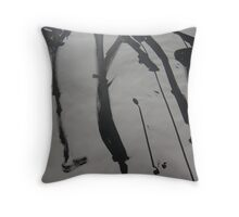 FABRIC~IN~MOVEMENT 16 Throw Pillow
