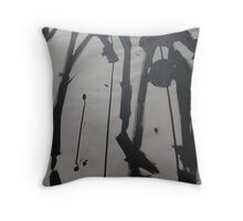 FABRIC~IN~MOVEMENT 9 Throw Pillow