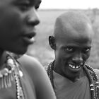 Maasai Warriors  by Jill Fisher