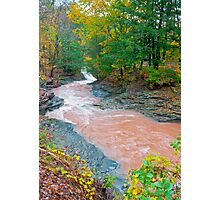 HOW SWIFT THE RIVER FLOWS Photographic Print