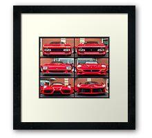 Ferrari Icons Framed Print