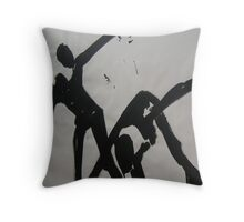 FABRIC~IN~MOVEMENT 7 Throw Pillow