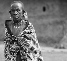 Masaai Elder  by Jill Fisher