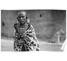 Masaai Elder  Poster
