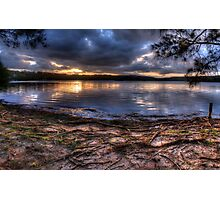 Last Light - Narrabeen Lakes, Sydney Australia - The HDR Experience Photographic Print