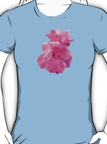 Two Pink Roses in Autumn T-Shirt