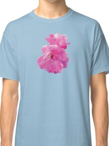 Two Pink Roses in Autumn Classic T-Shirt