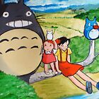 My Neighbor Totoro by debzandbex