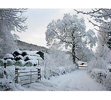 Conwy Valley in winter/Dyffryn Conwy yn y Gaeaf Photographic Print
