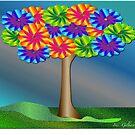 Fantasy tree in Spring....... by IrisGelbart
