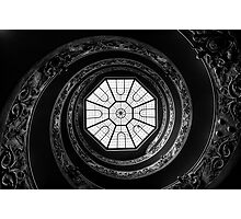 Vatican Museum Spiral Staircase Photographic Print