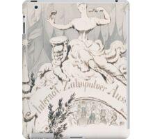 Adolf Oberländer or Oberlander A baroque sculpture forming an allegory iPad Case/Skin