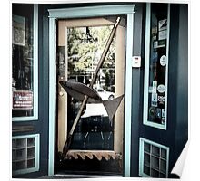 Fish Door - Shopfront Poster