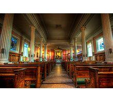 St. Mary's Catholic Church - Nave Photographic Print