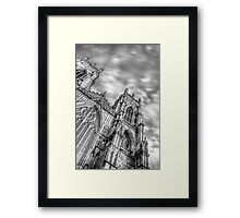 York Minster HDR Framed Print