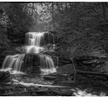 Tuscarora Falls Oct 2011 by Aaron Campbell