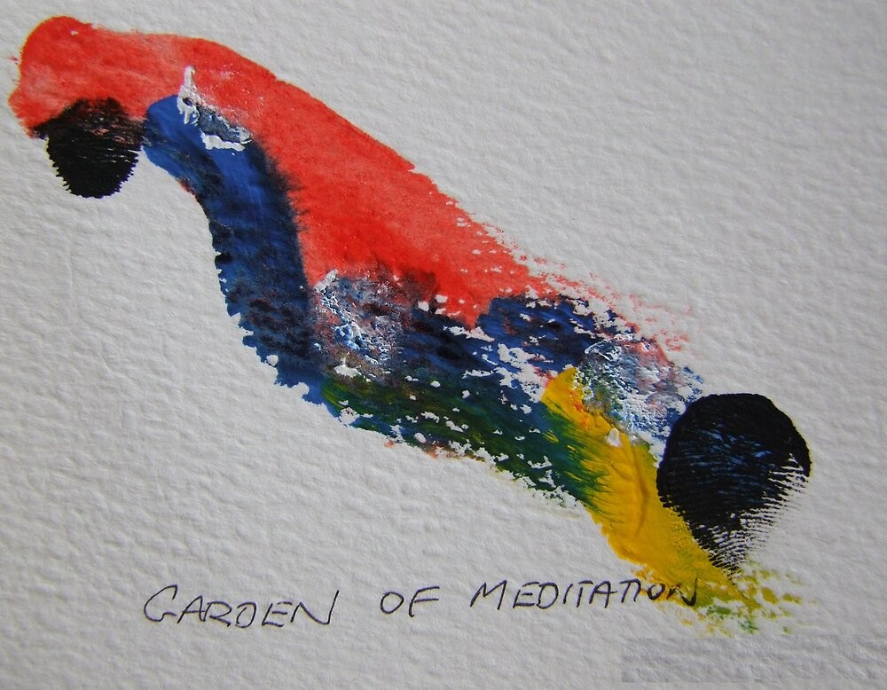 Garden of Meditation by leunig