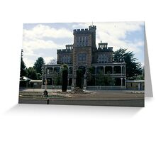 Winery and Estate Greeting Card