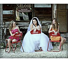 Sisterhood - The Texan Way  Photographic Print
