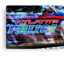 ATL POLICE TAX Canvas Print