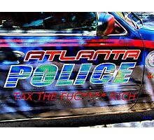 ATL POLICE TAX Photographic Print
