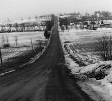 Late Winter Backroad's by Ken Hill