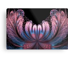 Pink Fan-tastique Metal Print