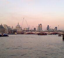 London Skyline in Evening by Jack McInally