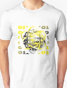 energy atom binary code design Unisex T-Shirt