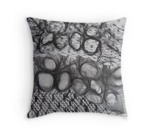 FABRIC~IN~MOVEMENT 18 Throw Pillow